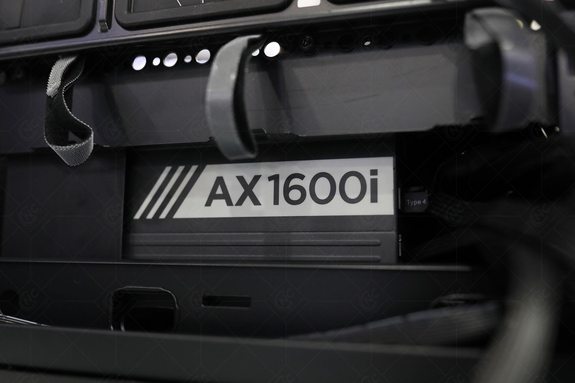 PSU Corsair AX1600i - 1600W 80 Plus Titanium