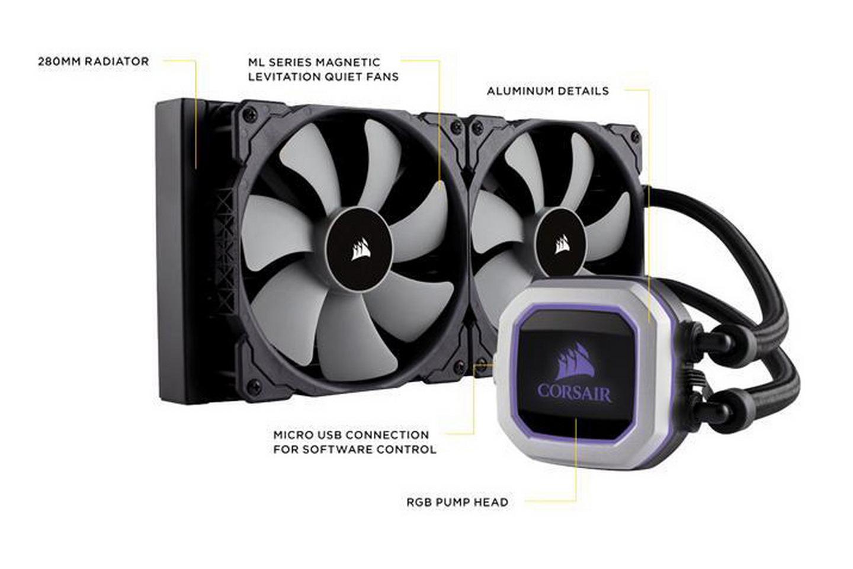 Tản nhiệt nước Corsair Hydro H115i PRO RGB 280mm