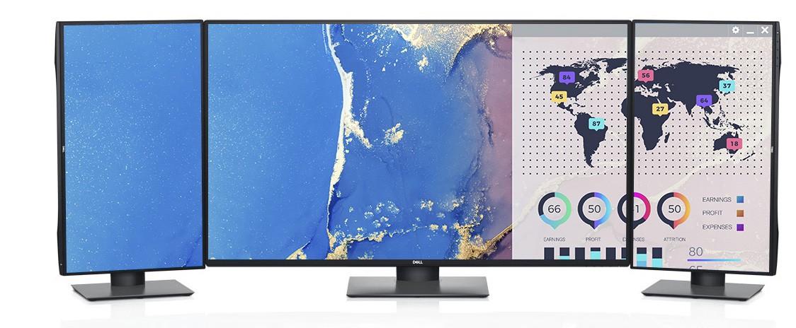 Dell U4320Q là màn hình 4K