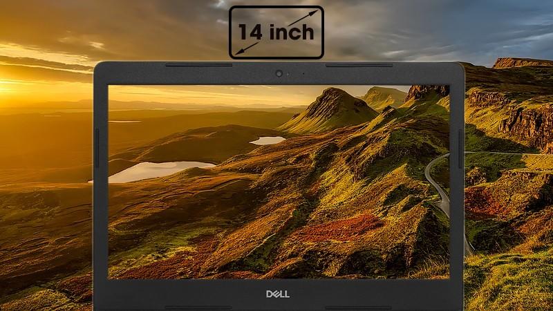 Màn hình 14 inch với độ phân giải HD