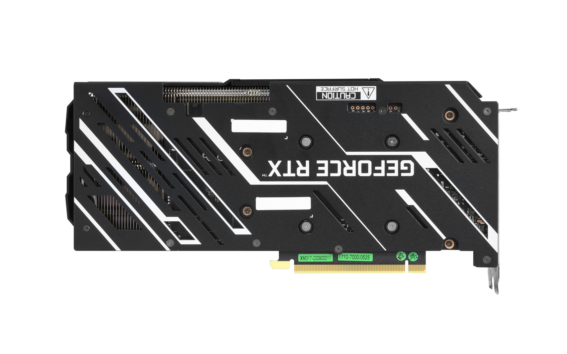 GALAX RTX 3060 Ti 8GB EX Black (1-Click OC) back