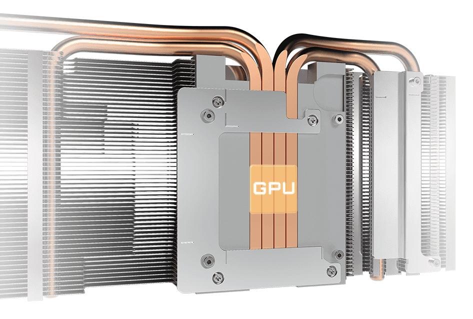 RTX 3060 Ti EAGLE 8GB Ống dẫn nhiệt bằng đồng nguyên chất