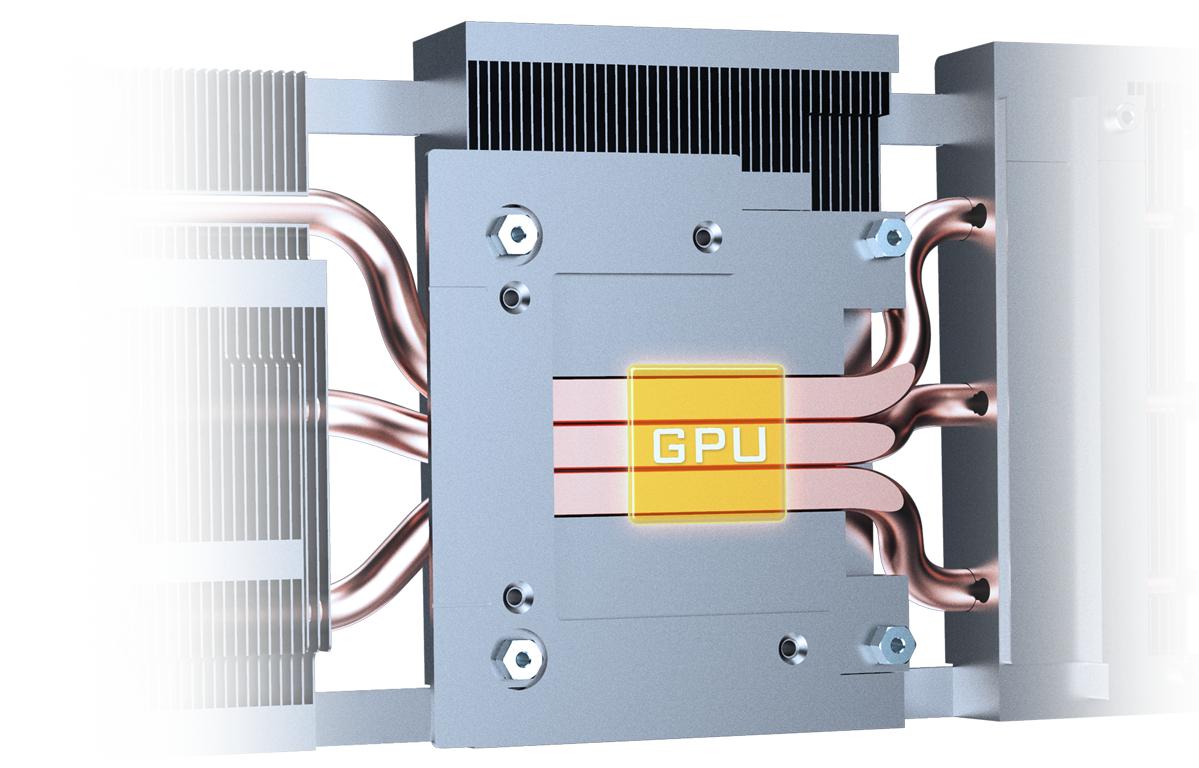 GIGABYTE RTX 3060 Ti GAMING OC 8GB có Ống dẫn nhiệt bằng đồng