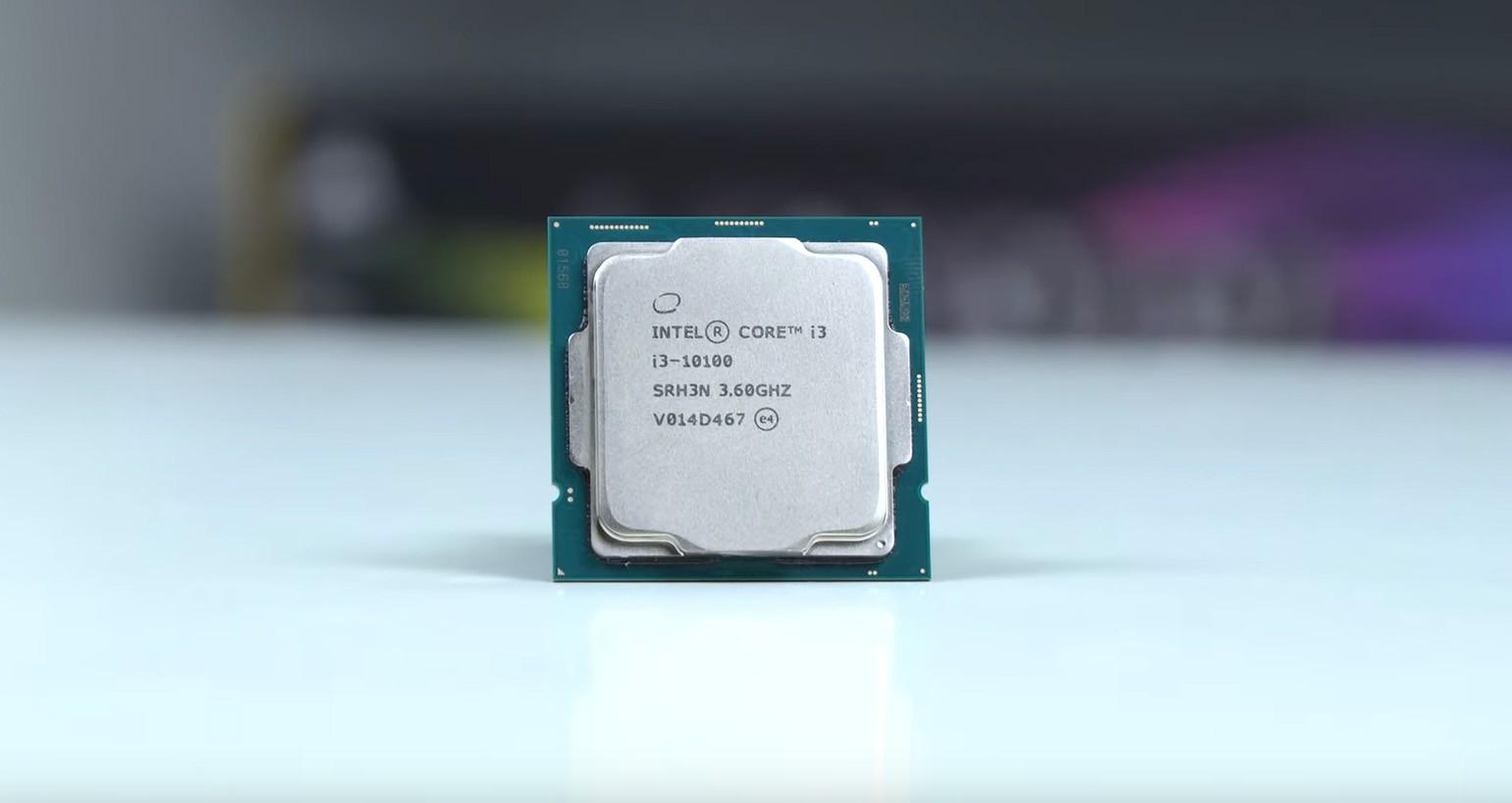 bộ xử lý i3 10100