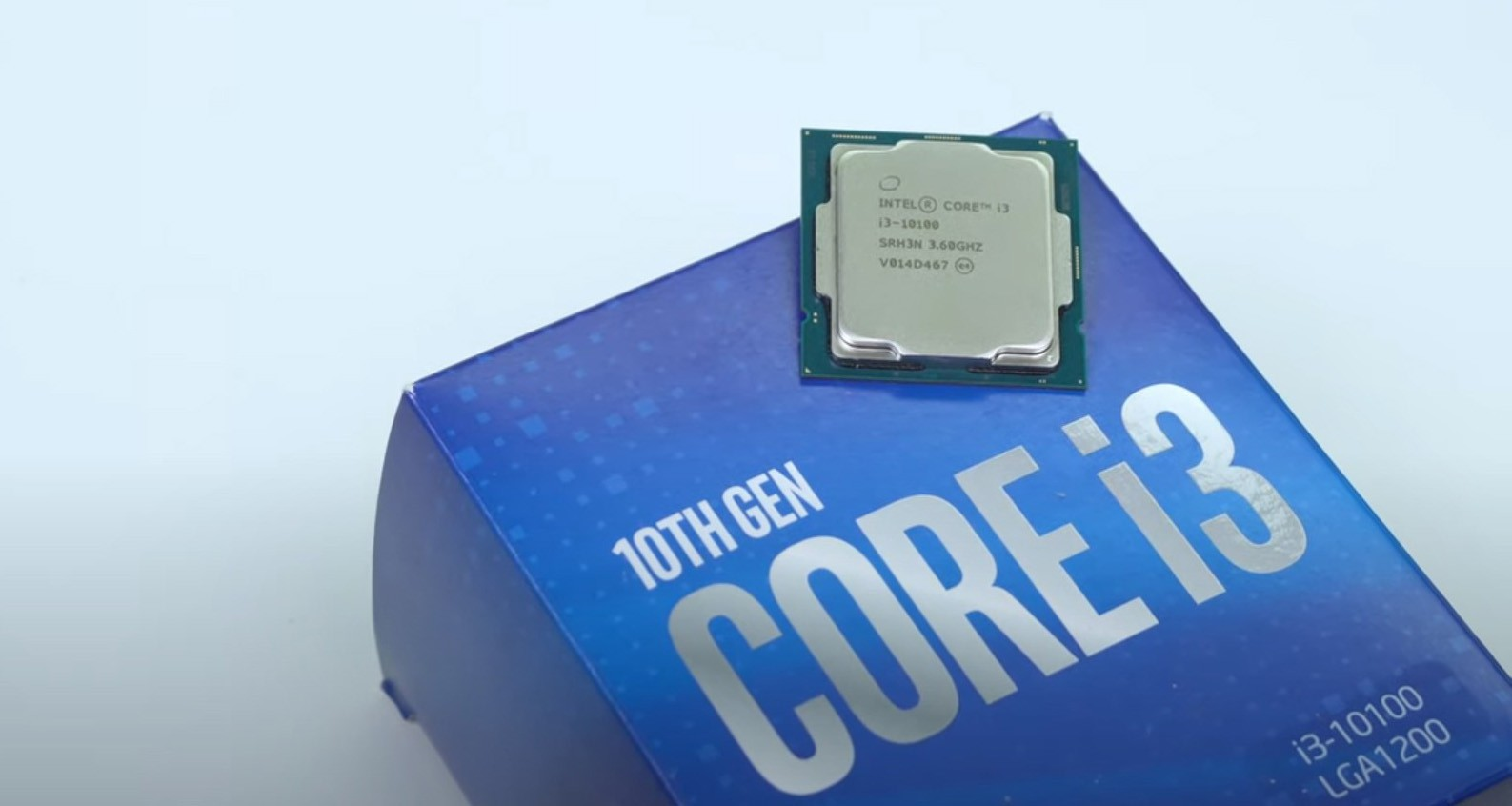 CPU Intel Core i3 10100 (3.6GHz turbo up to 4.3GHz, 4 nhân 8 luồng, 6MB Cache, 65W)