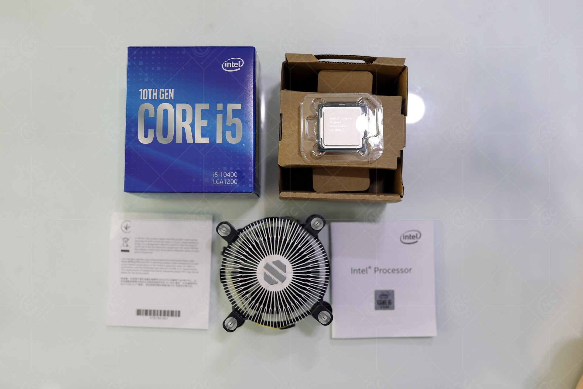 Intel Core i5 10400 unbox