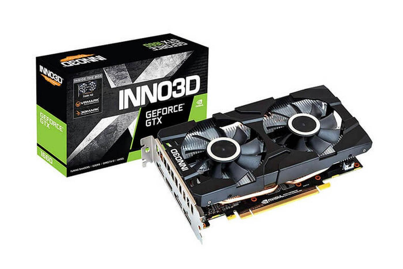 VGA INNO3D GEFORCE GTX 1660 TWIN X2 6GB