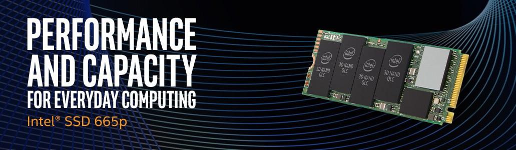 Ổ cứng SSD M2 NVMe 2280 Intel 665P 1TB