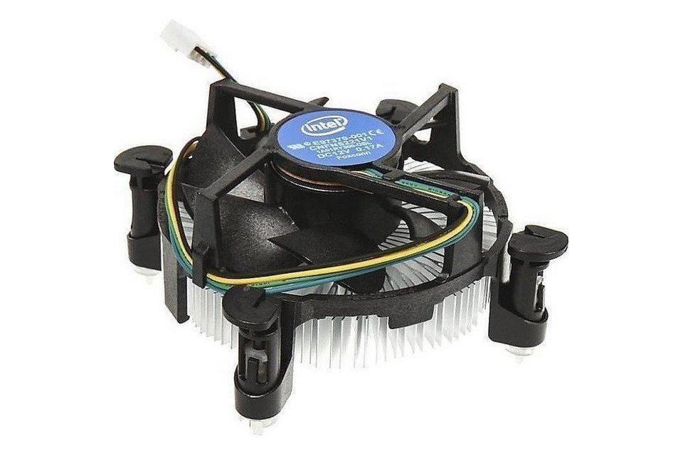 Intel Stock Fan White