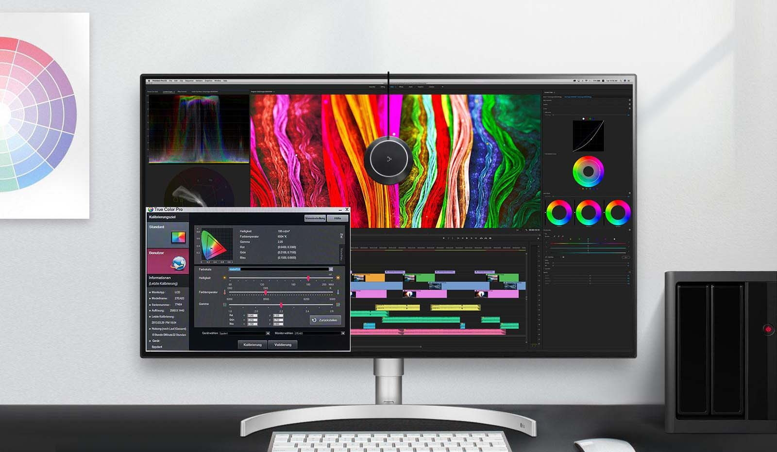 UHD 4K với Hiệu chỉnh màu với phân loại màu chi tiết