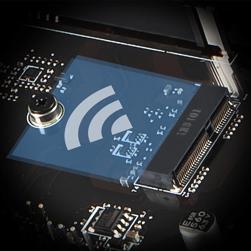 Khe cắm M.2 E-key Wi-Fi