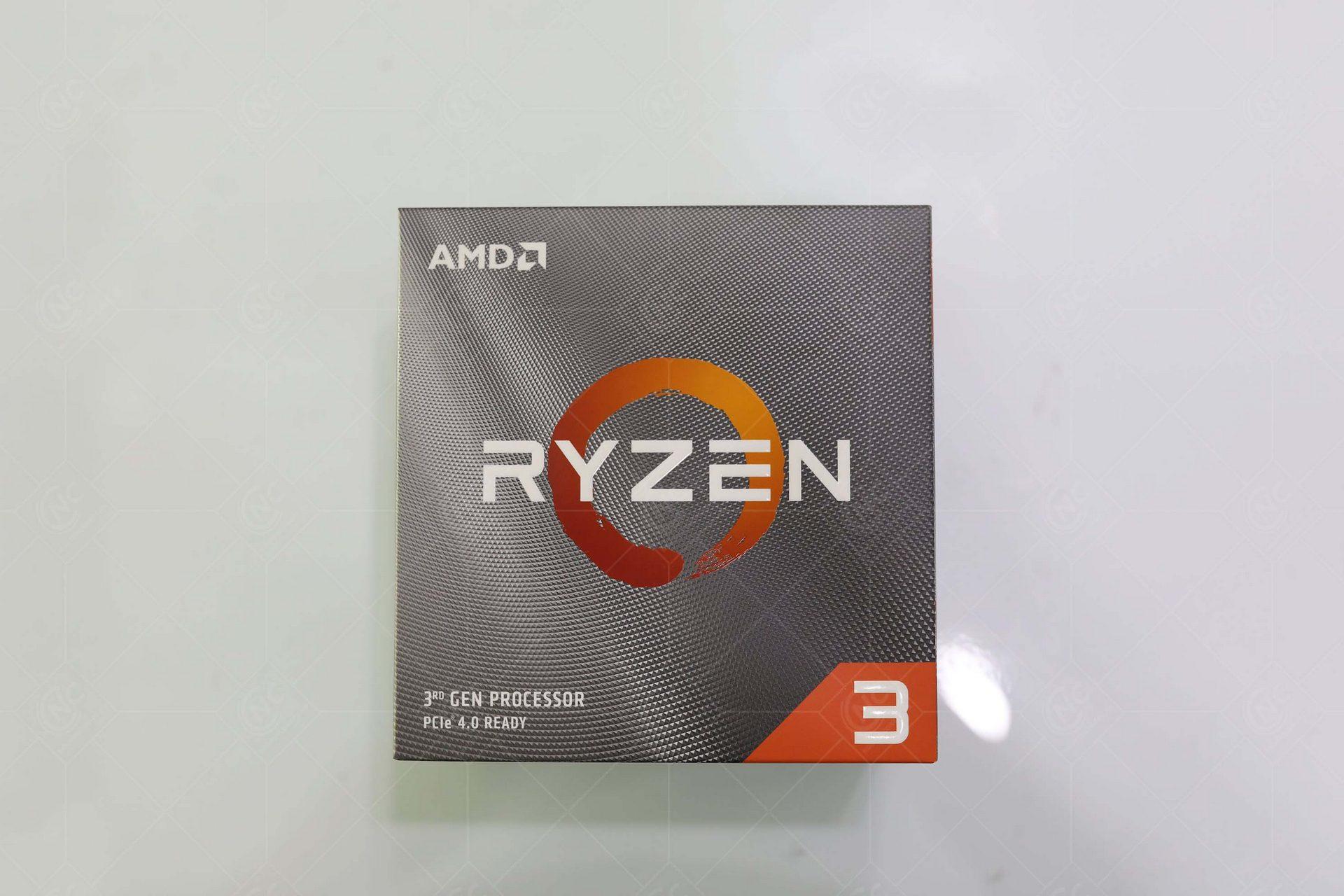 CPU AMD Ryzen 3 3100 (3.6GHz Boost 3.9GHz | 4 Cores / 8 Threads | 16MB Cache | PCIe 4.0)