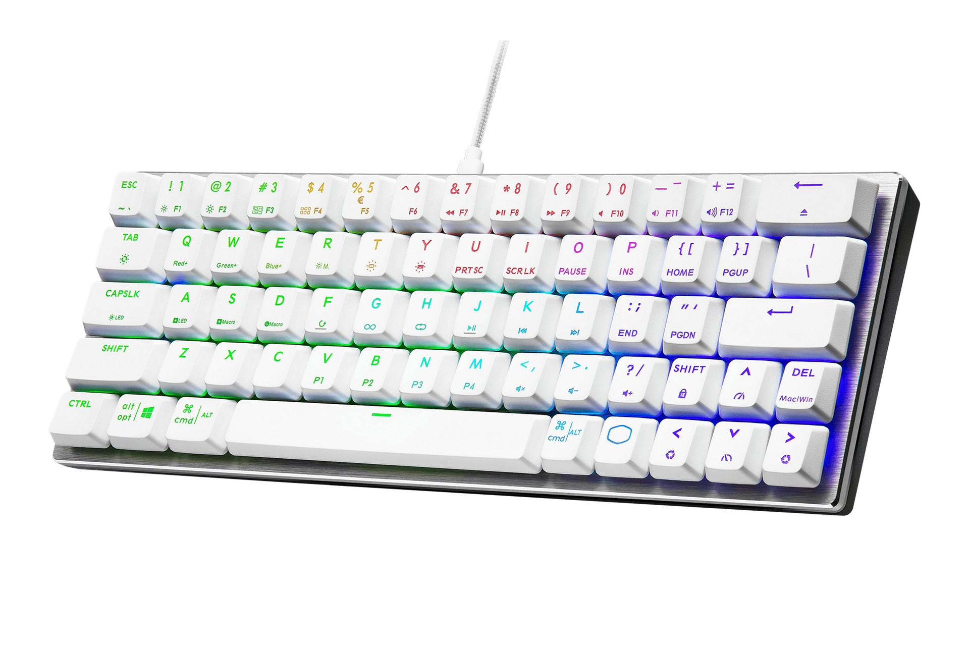 Cooler Master SK620 Silver White Red Switch