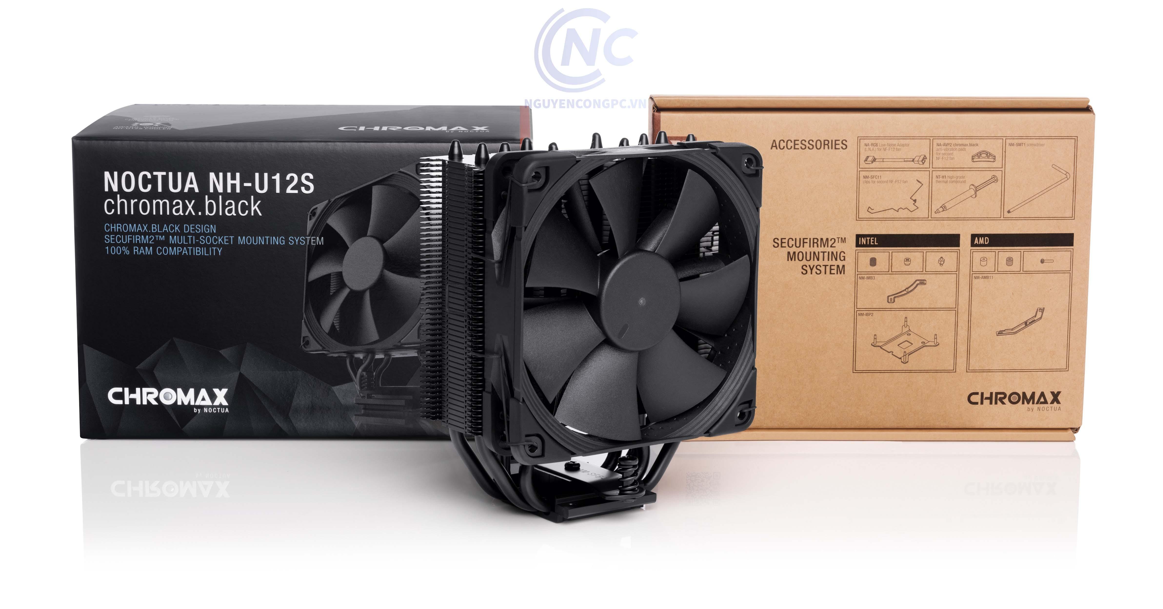 Tản nhiệt CPU Noctua NH-U12S chromax.black
