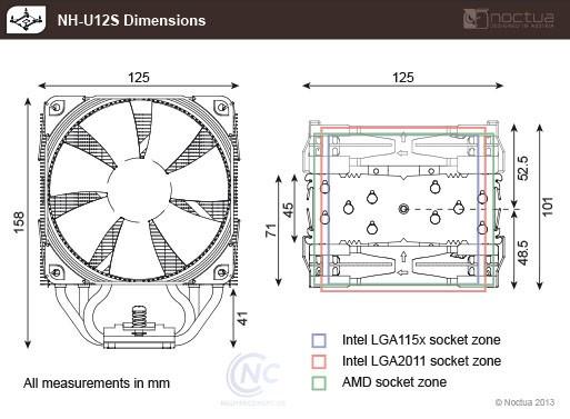 Tản nhiệt CPU Noctua NH-U12S