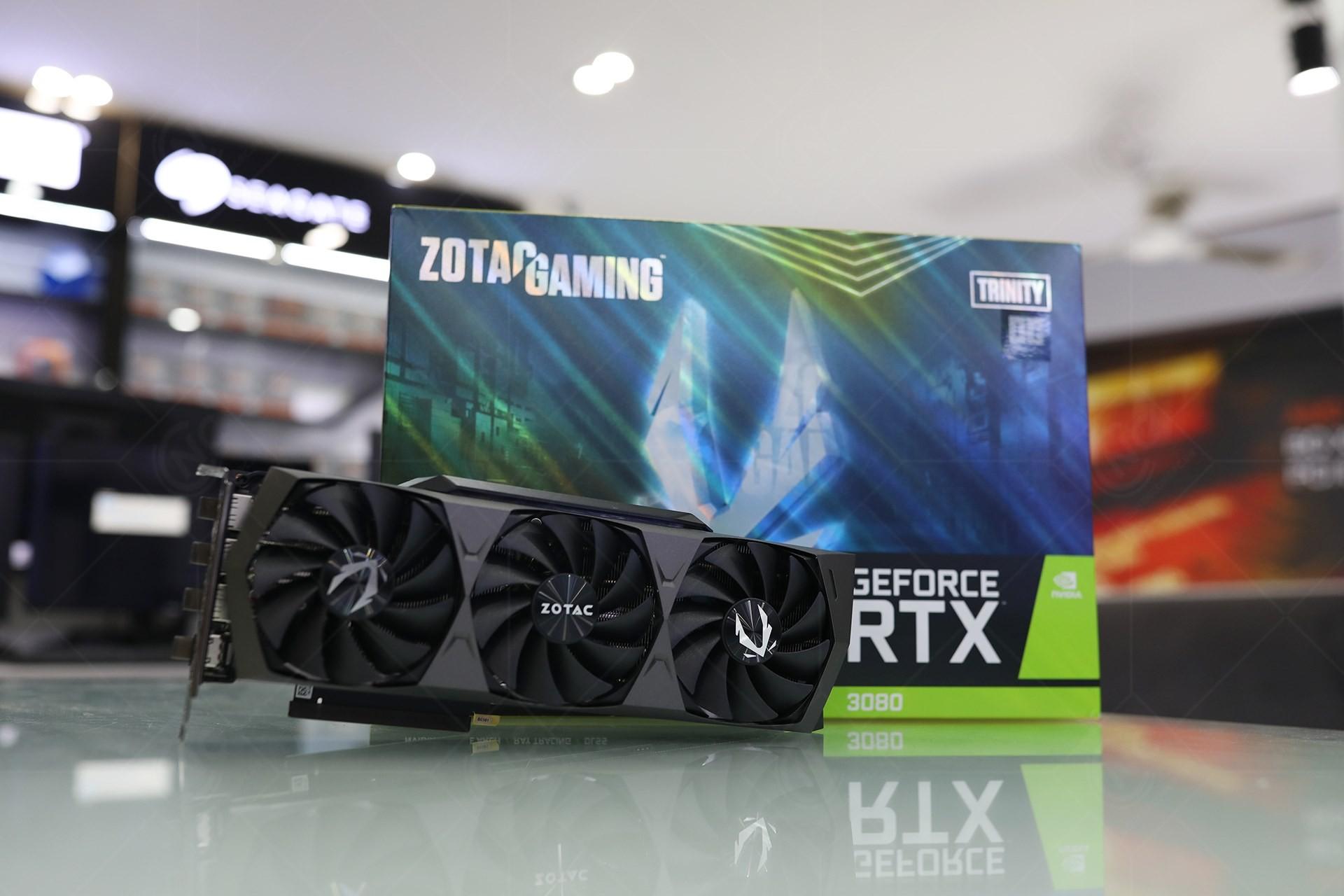 Card đồ họa ZOTAC Gaming RTX 3080 Trinity