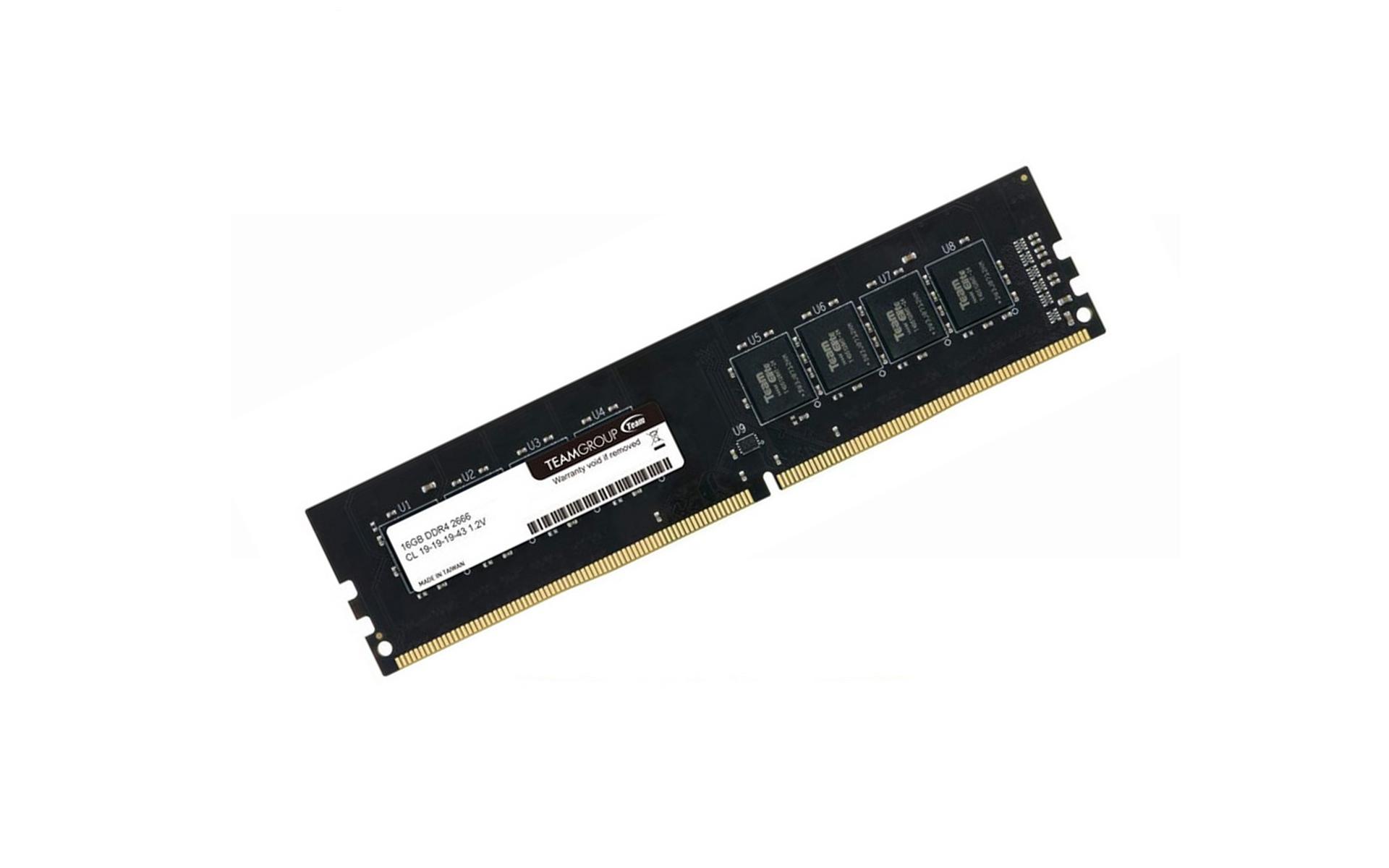 RAM TEAM ELITE PLUS 16GB 2666MHz
