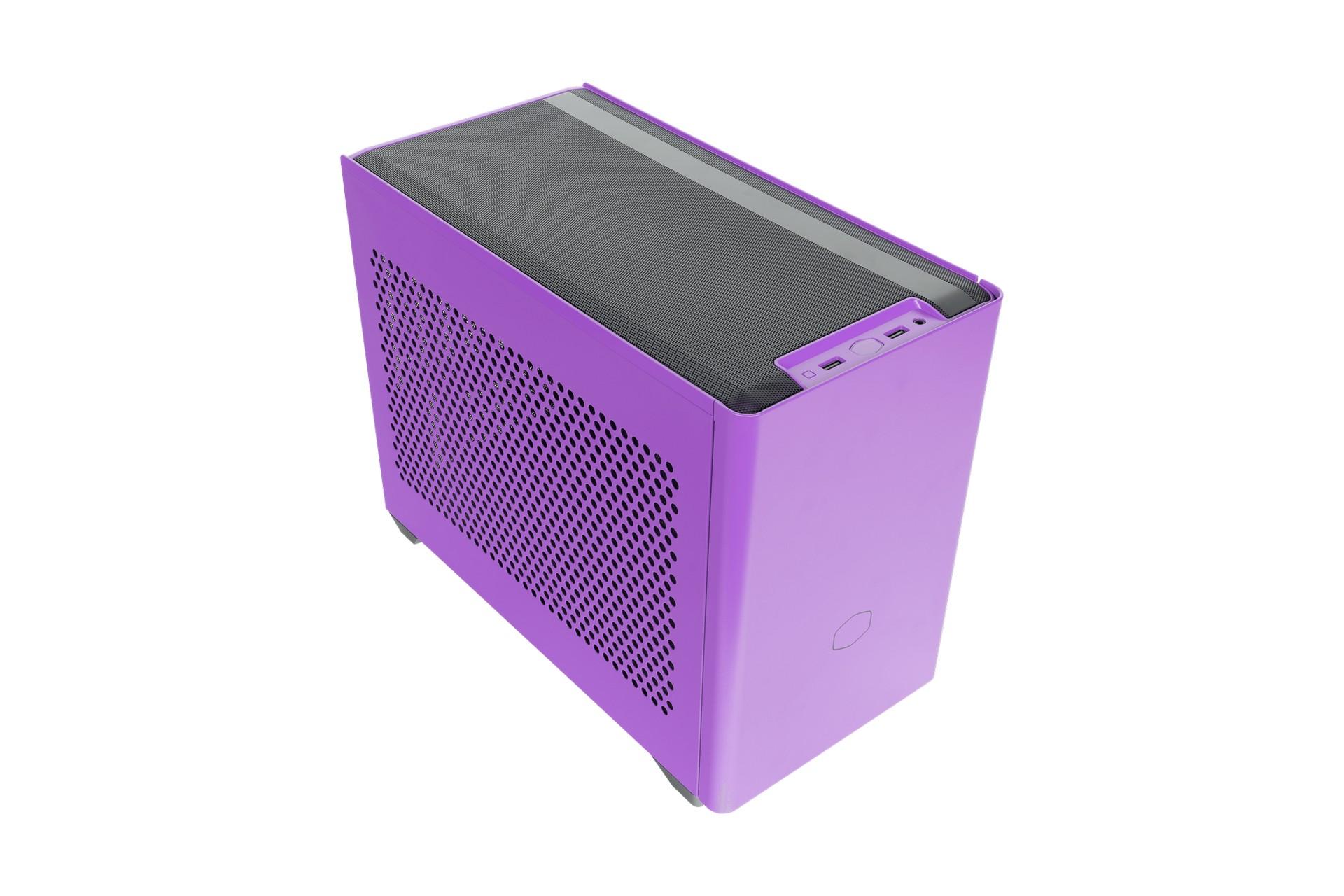 Vỏ Máy Tính Cooler Master MasterBox NR200P Nightshade Purple