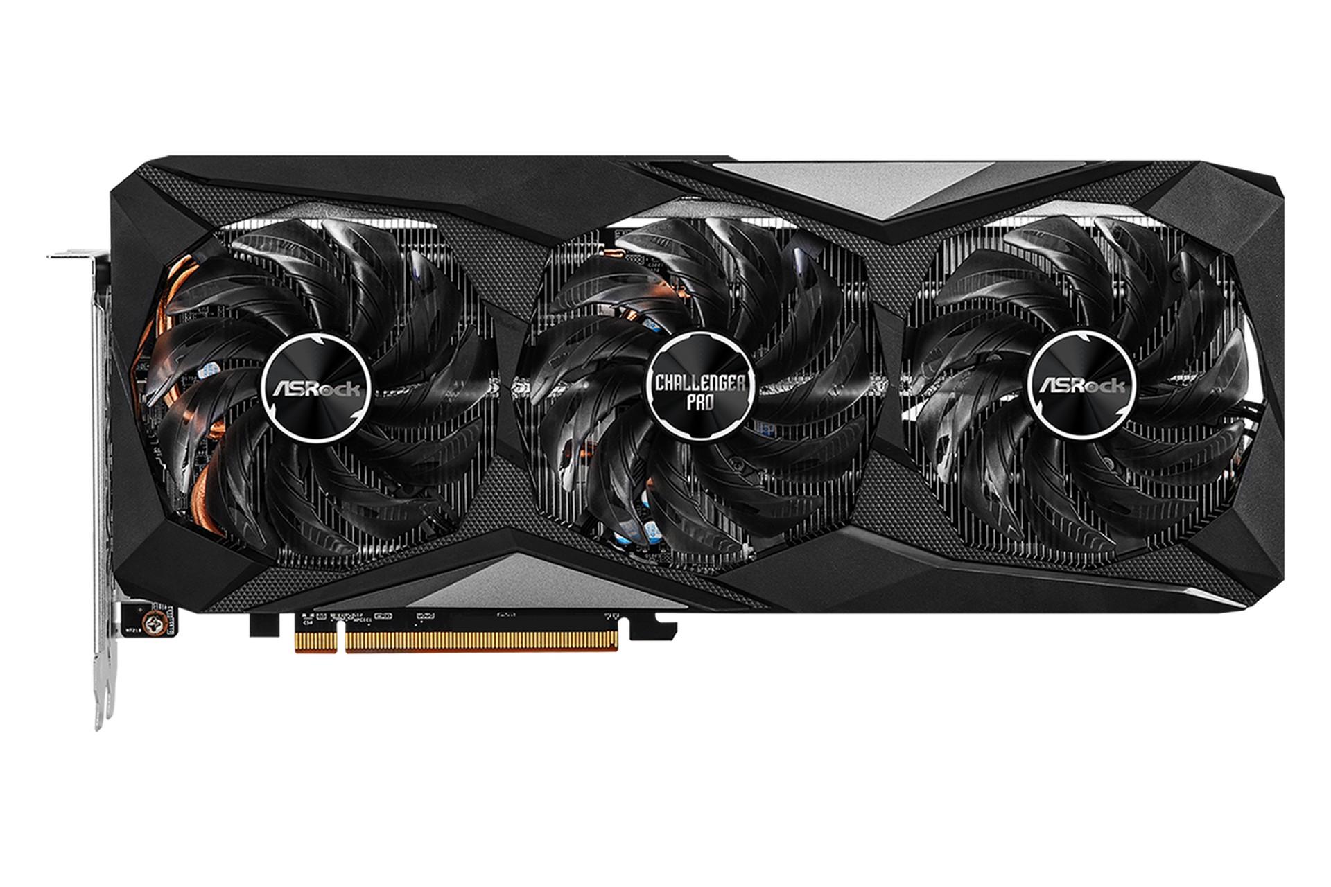 Card đồ họa AsRock AMD Radeon RX 6600 XT Challenger Pro