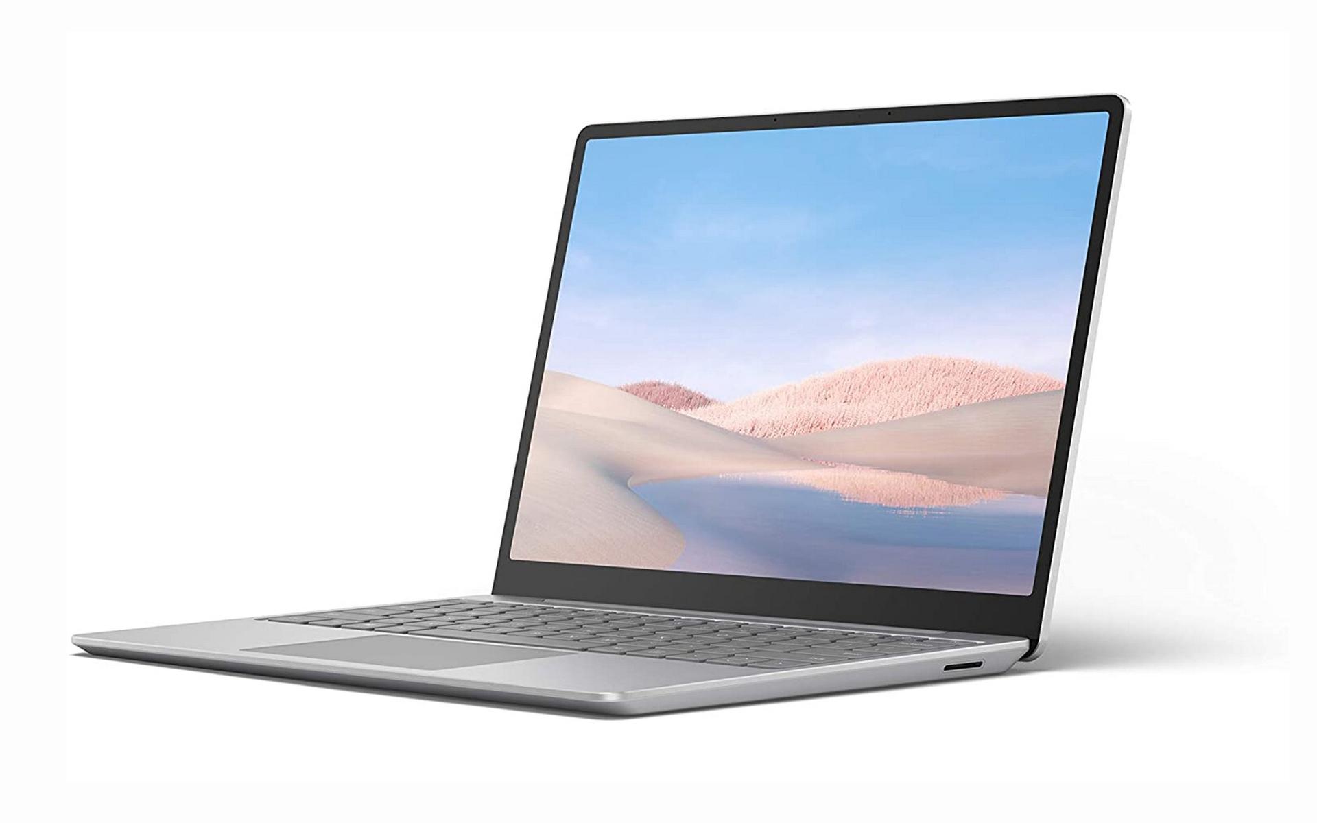 Máy tính xách tay Microsoft Surface Laptop Go (12.4 inch/Touchscreen/ i5/8G/256Gb/Platinum)