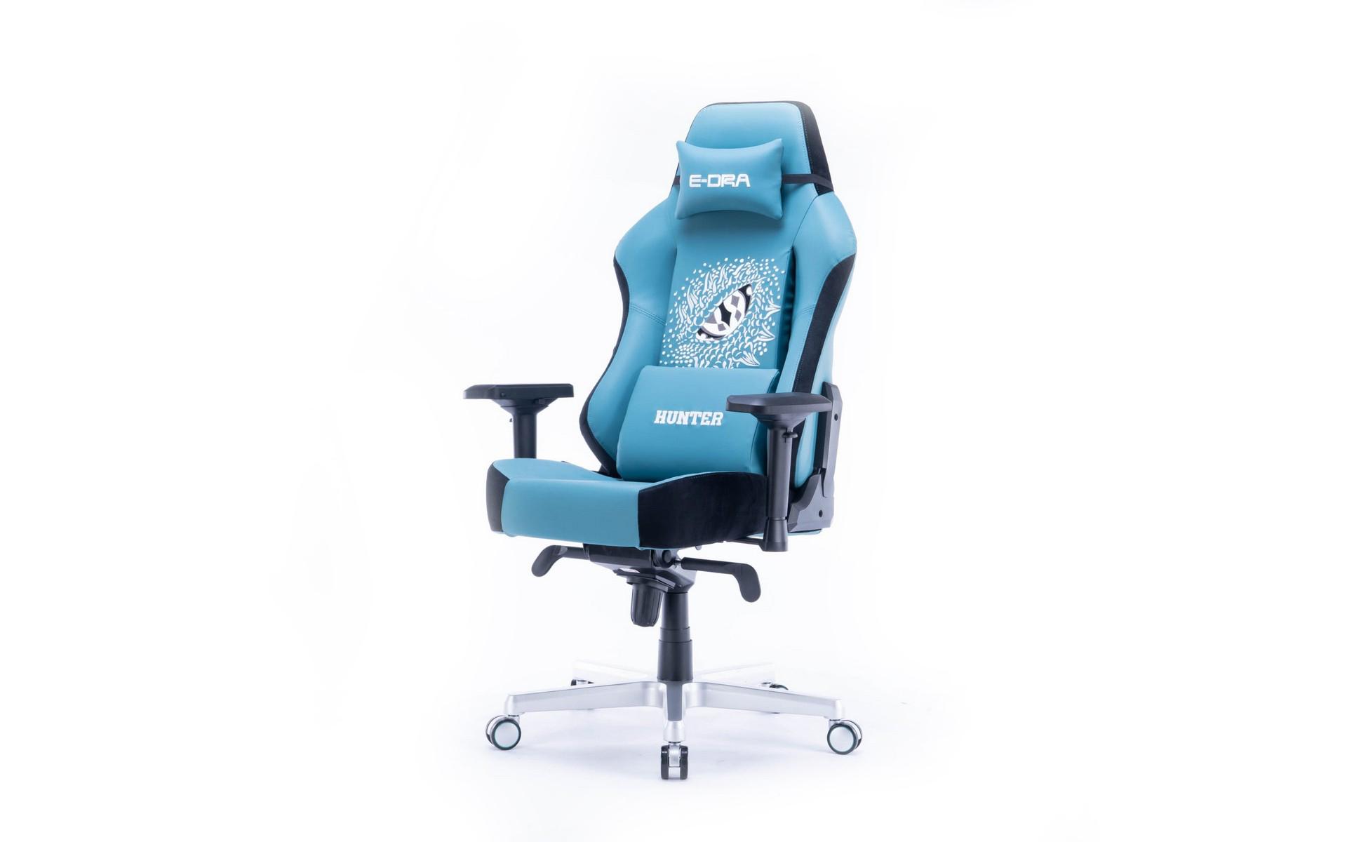 Ghế game E-DRA Hunter EGC206 Blue