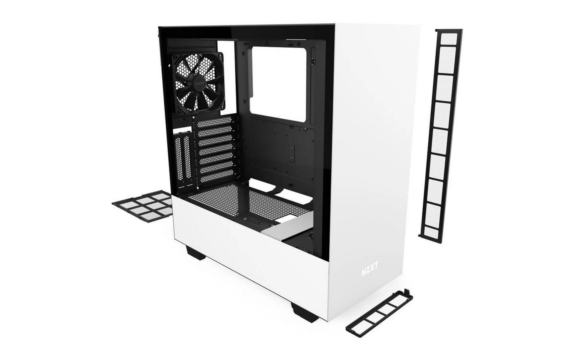 Vỏ Case NZXT H510i (Mid Tower/Màu Trắng)