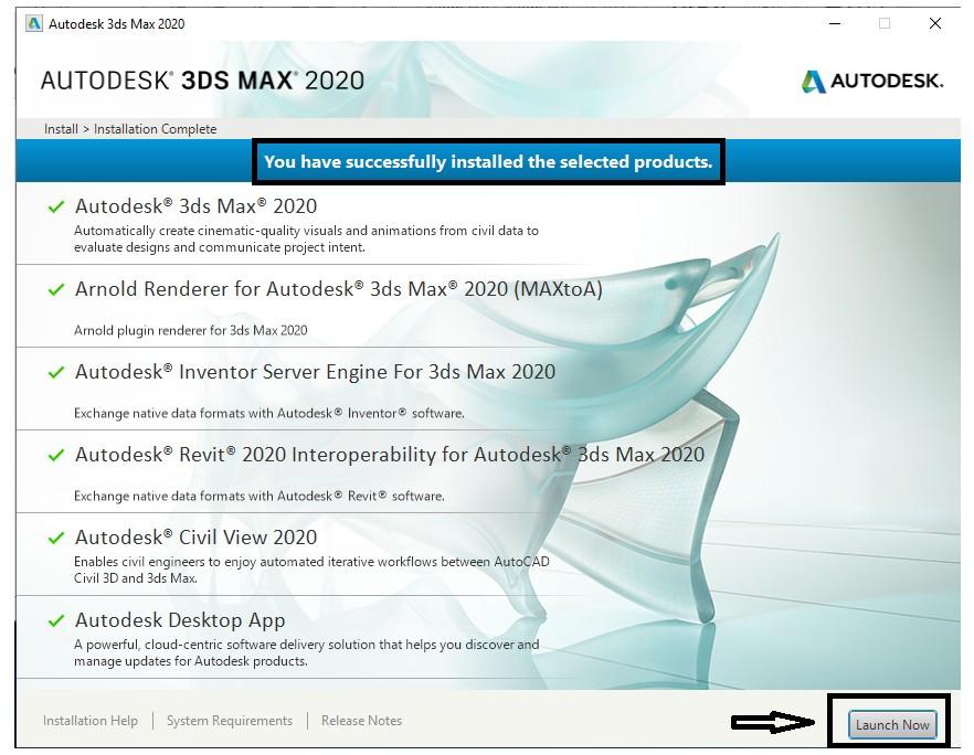 Download 3DS Max 2020 - Hướng dẫn cài đặt nhanh nhất