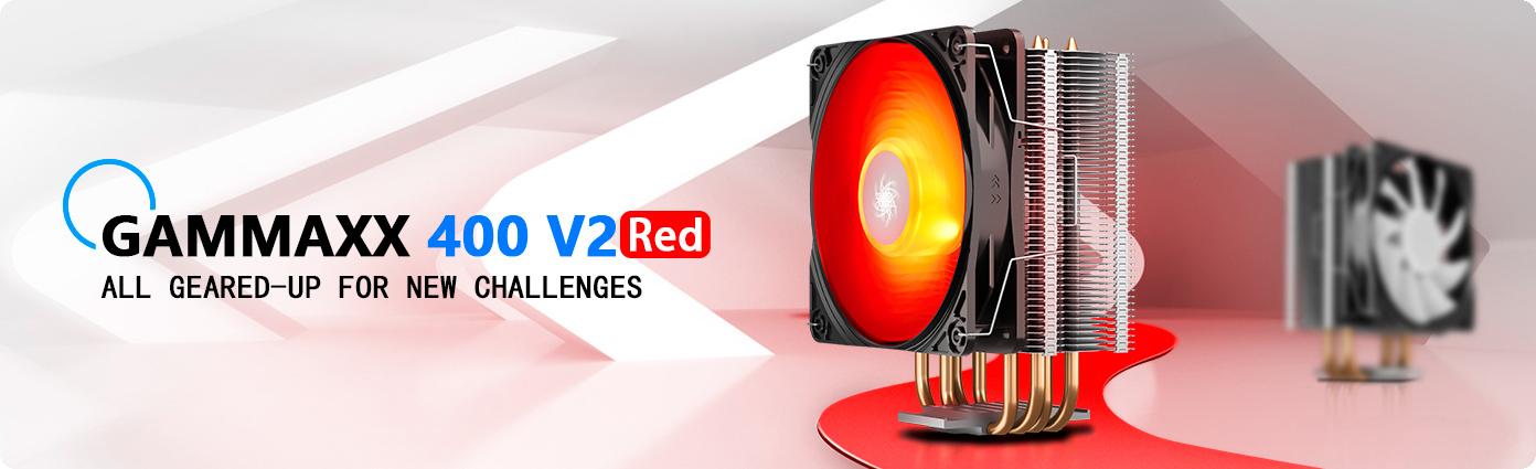 Tản nhiệt khí Deepcool GAMMAXX 400 V2 RED