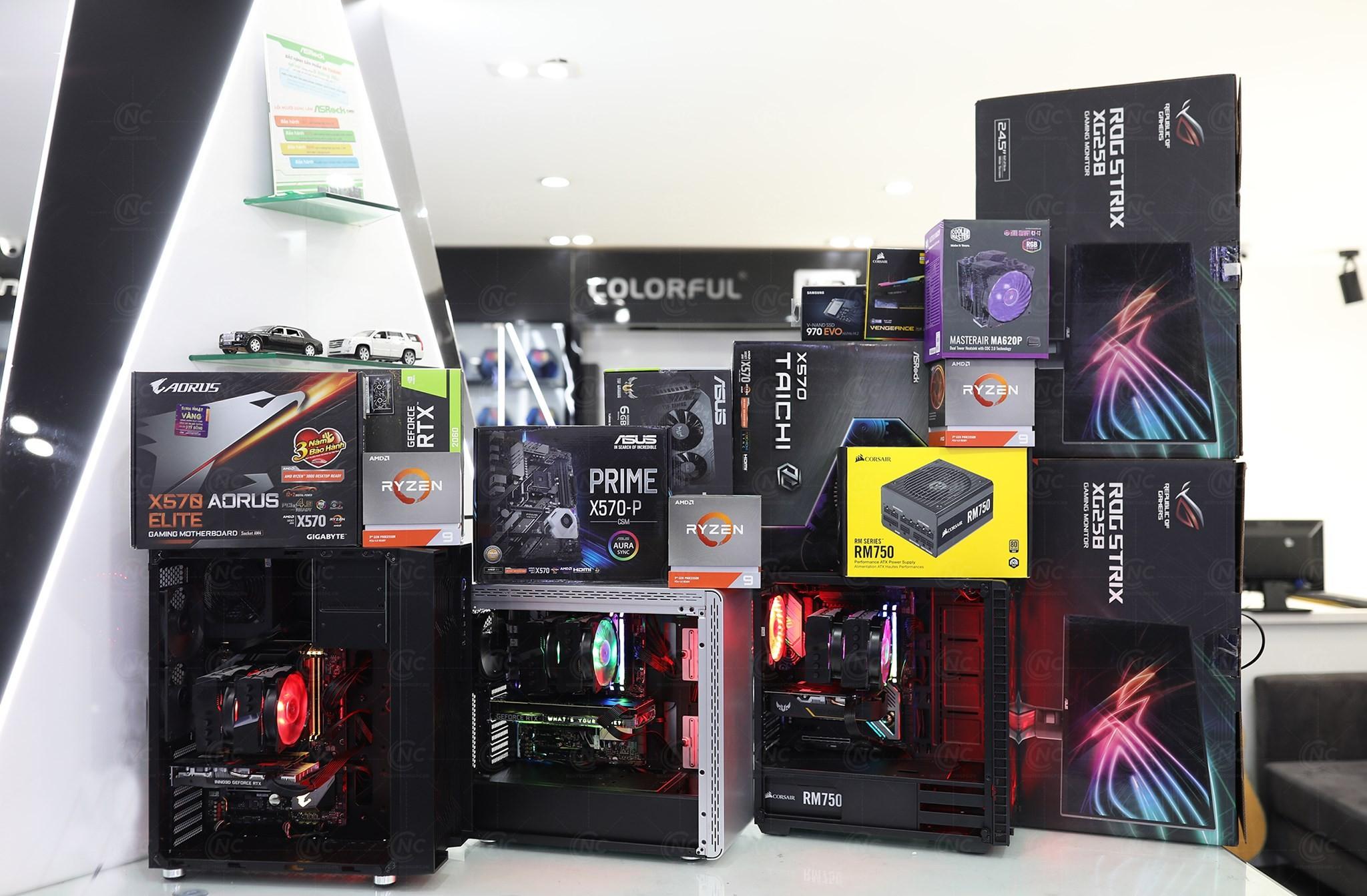 MỘT SỐ CẤU HÌNH ĐƯỢC NGUYỄN CÔNG BUILD BỞI CPU AMD Ryzen 9 3900X