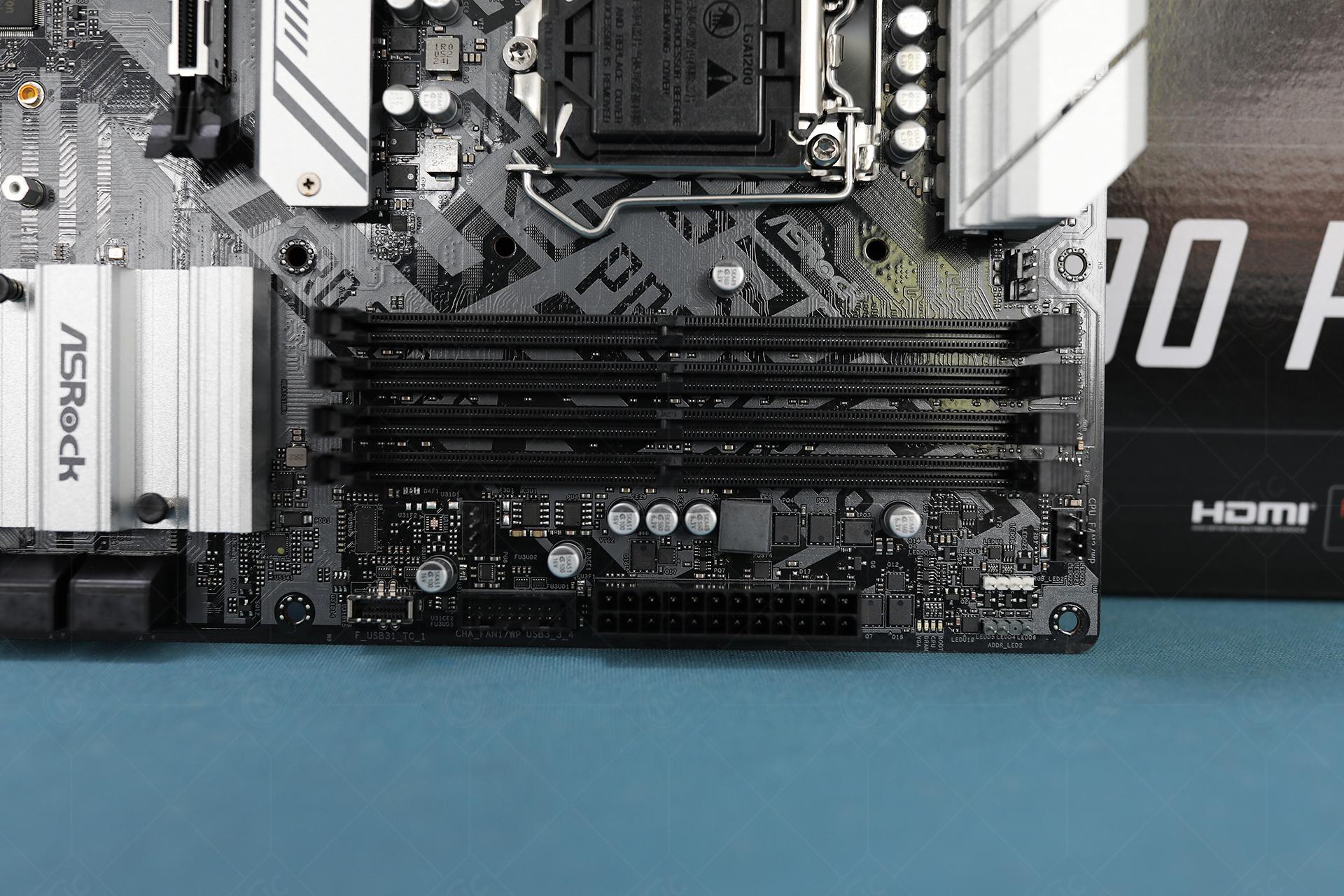 ASRock Z590 Pro4 RAM