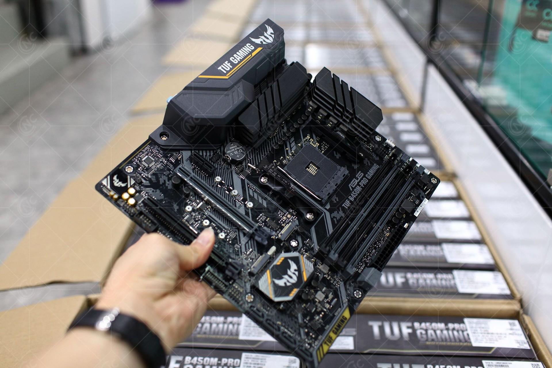 mainboard asus tuf b450m pro gaming