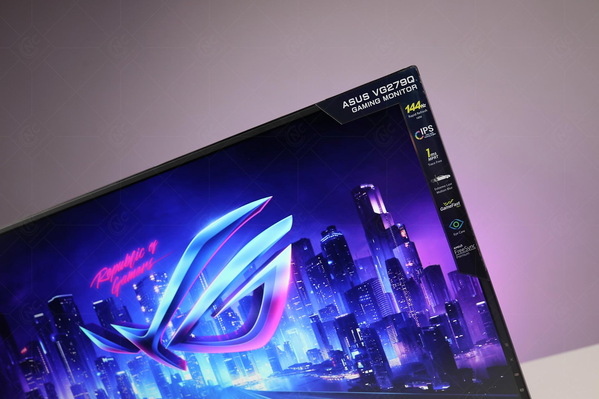 Màn Hình ASUS TUF Gaming VG279Q (27inch/FHD/IPS/144Hz/1ms/FreeSync)