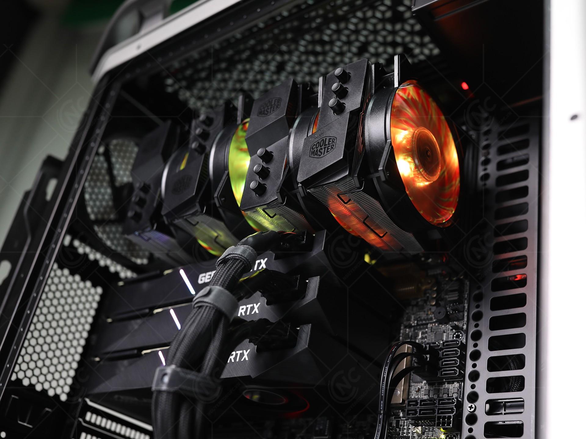 2 x Cooler Master Masterair MA620P RGB