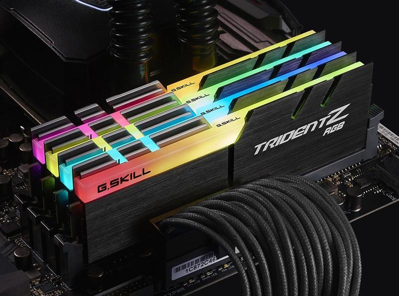 G.Skill Trident Z RGB bus 3000
