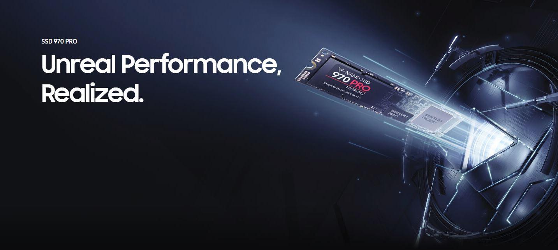 SSD Samsung 970 PRO 512GB