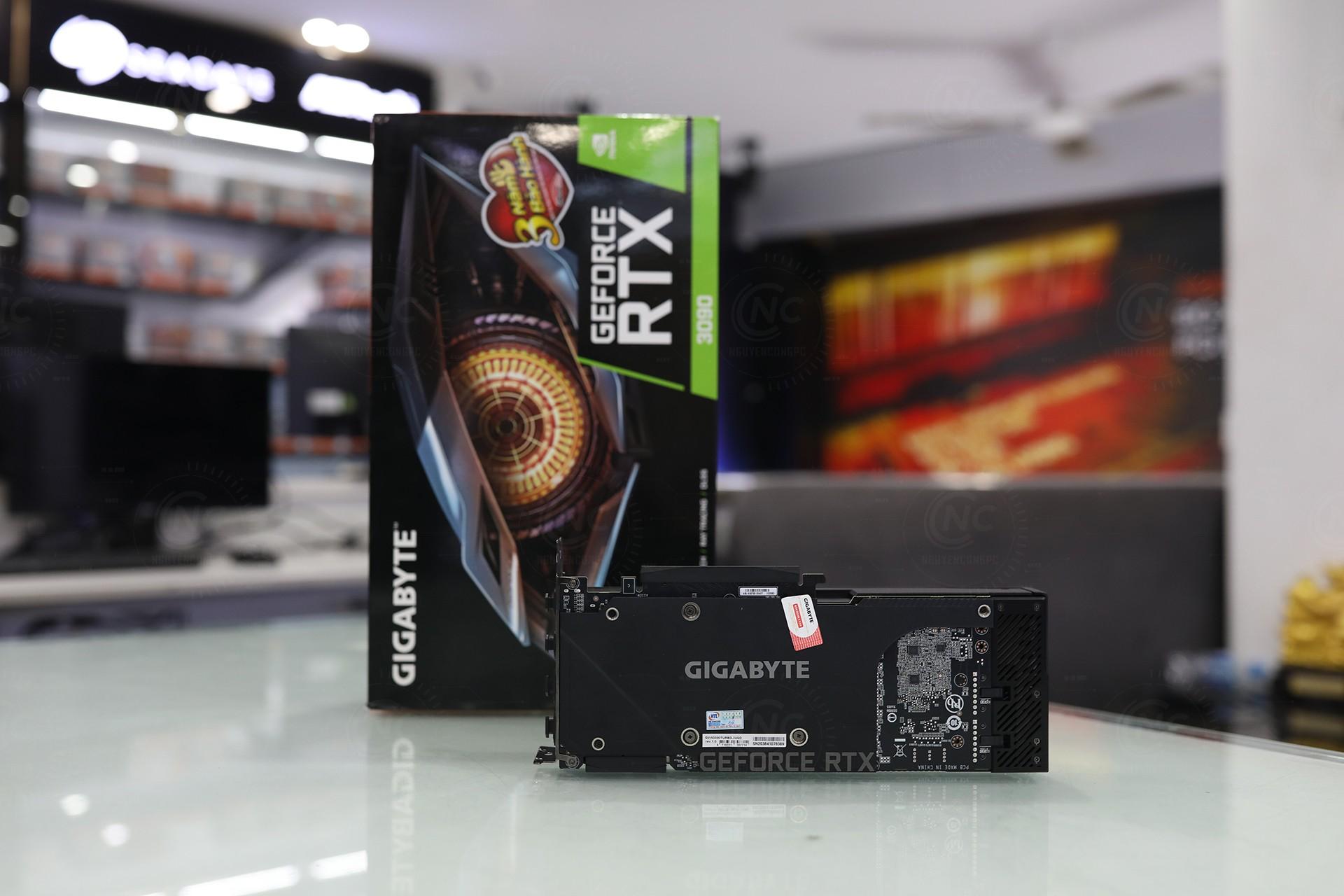 VGA Gigabyte RTX 3090 TURBO 24G