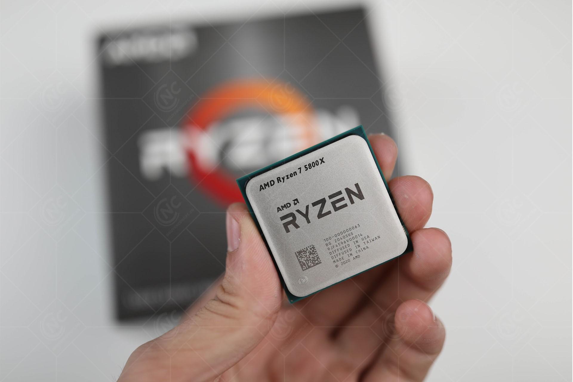 Vi xử lý AMD Ryzen 7 5800X