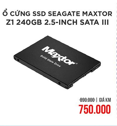 Ổ cứng SSD Seagate Maxtor Z1 240GB 2.5-Inch SATA III