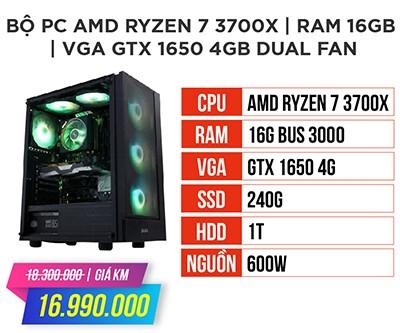 Bộ máy tính amd ryzen 7 3700x