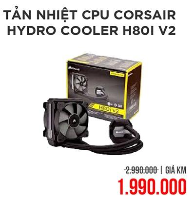 Tản nhiệt cpu corsair h80i