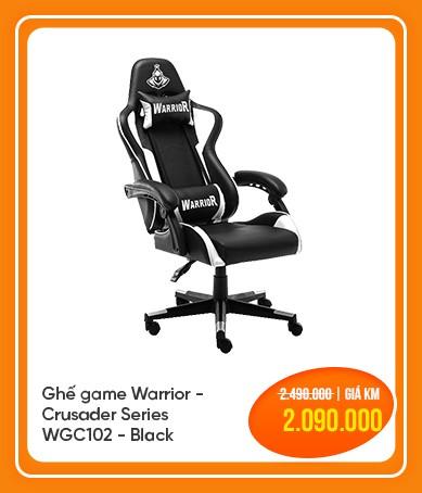 ghế game warrior crusader wgc102