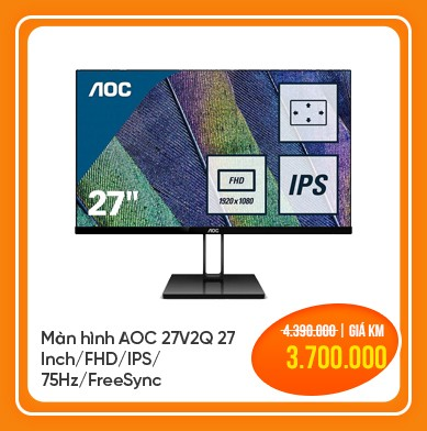 màn hình aoc 27v2q