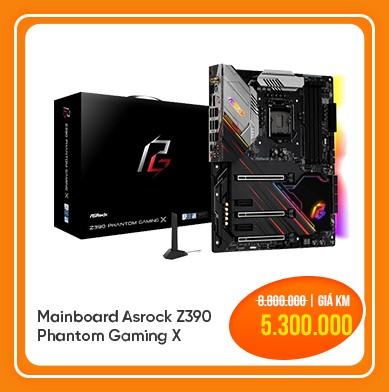 mainboard asrock z390 phantom gaming x