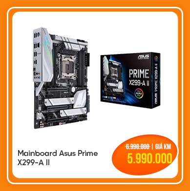 mainboard asus prime x299 a II