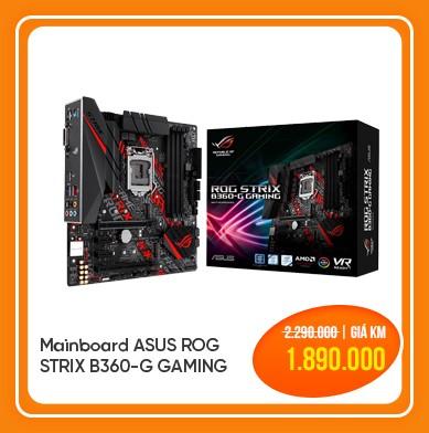 mainboard asus rog strix b360 g gaming