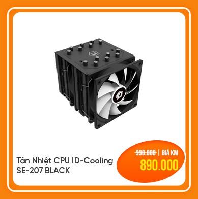 tản nhiệt cpu id cooling se 207