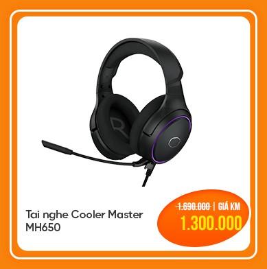 tai nghe cooler master mh650