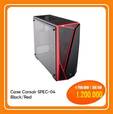 Case Corsair SPEC-04 Black/Red
