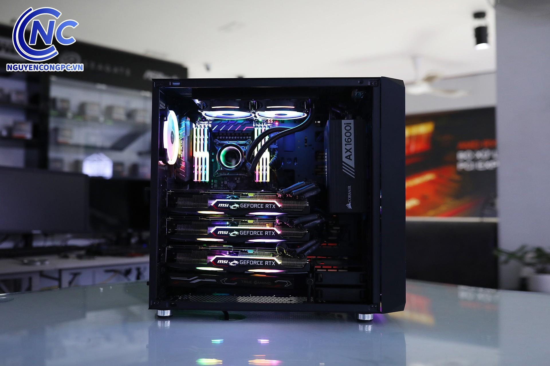 MSI GeForce RTX 2080 Ti x3