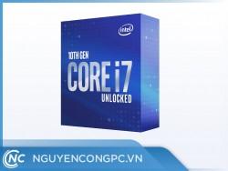 CPU Intel Core i7 10700F (2.9GHz turbo 4.8GHz | 8 nhân | 16 luồng | 16MB Cache)